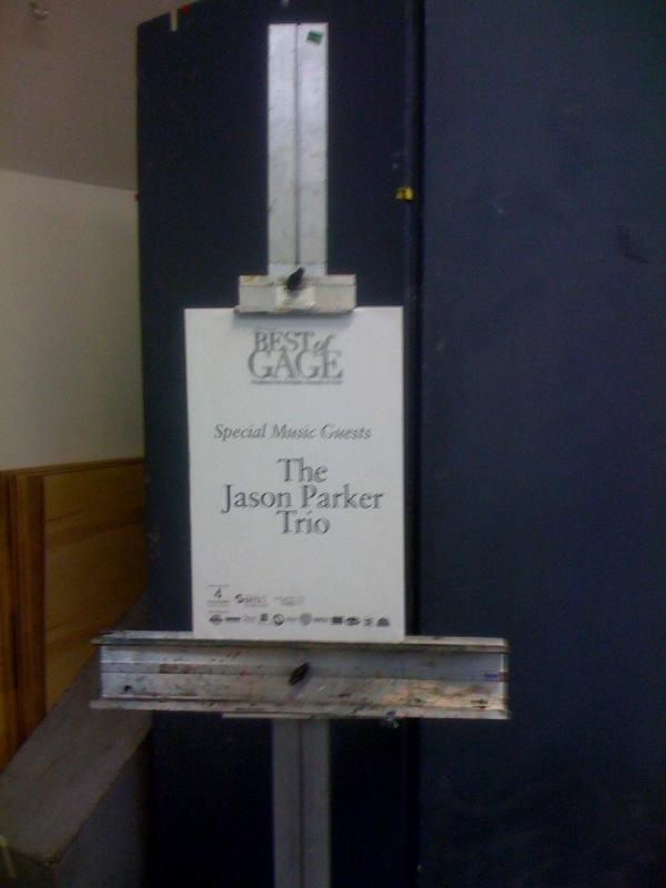 Jason Parker Trio at Gage Academy of Art